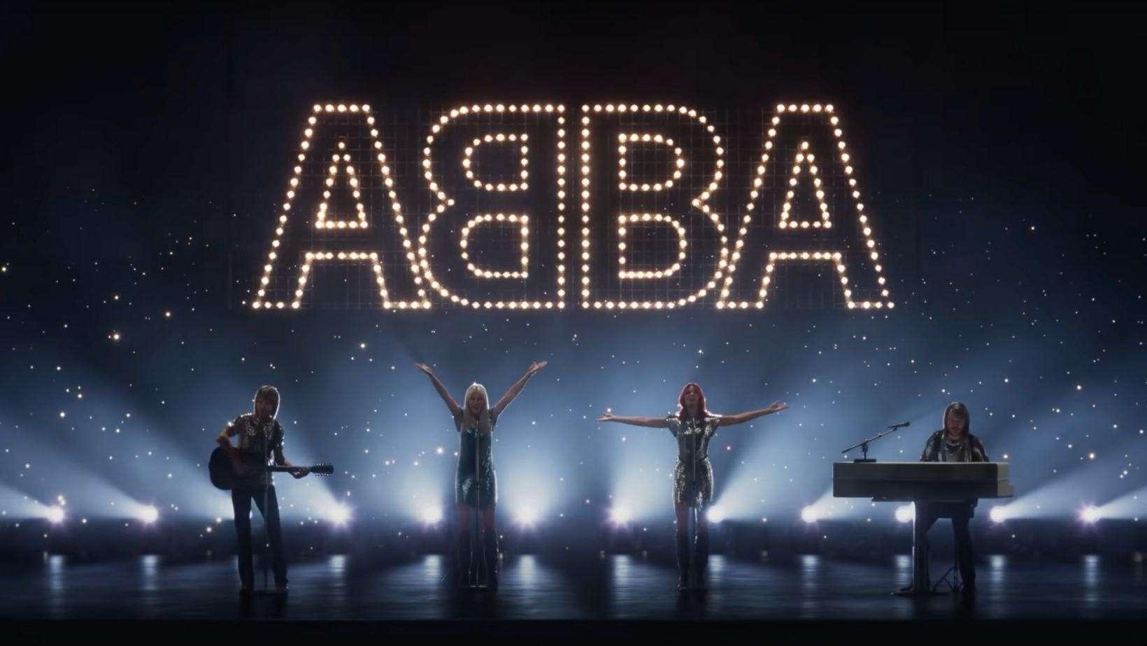 ABBA Voyage - Live Bild aus dem aktuellen YouTube Video